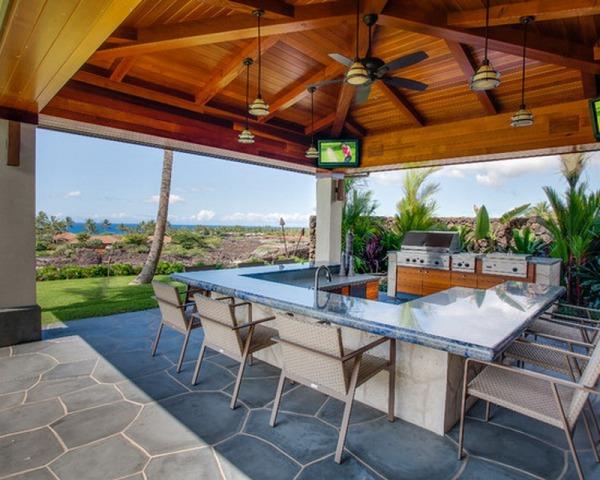 Outdoor kitchen patio ideas
